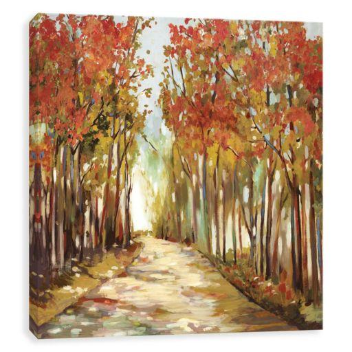 Artissimo Designs A Sunny Path Canvas Wall Art