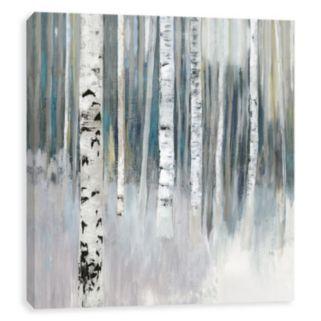 Artissimo Designs Winter Birch Canvas Wall Art