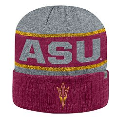 Adult Top of the World Arizona State Sun Devils Below Zero II Beanie