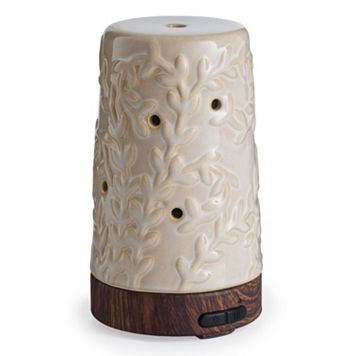 Airome by Candle Warmers Etc. Color-Changing Ultra Sonic Essential Oil Diffuser