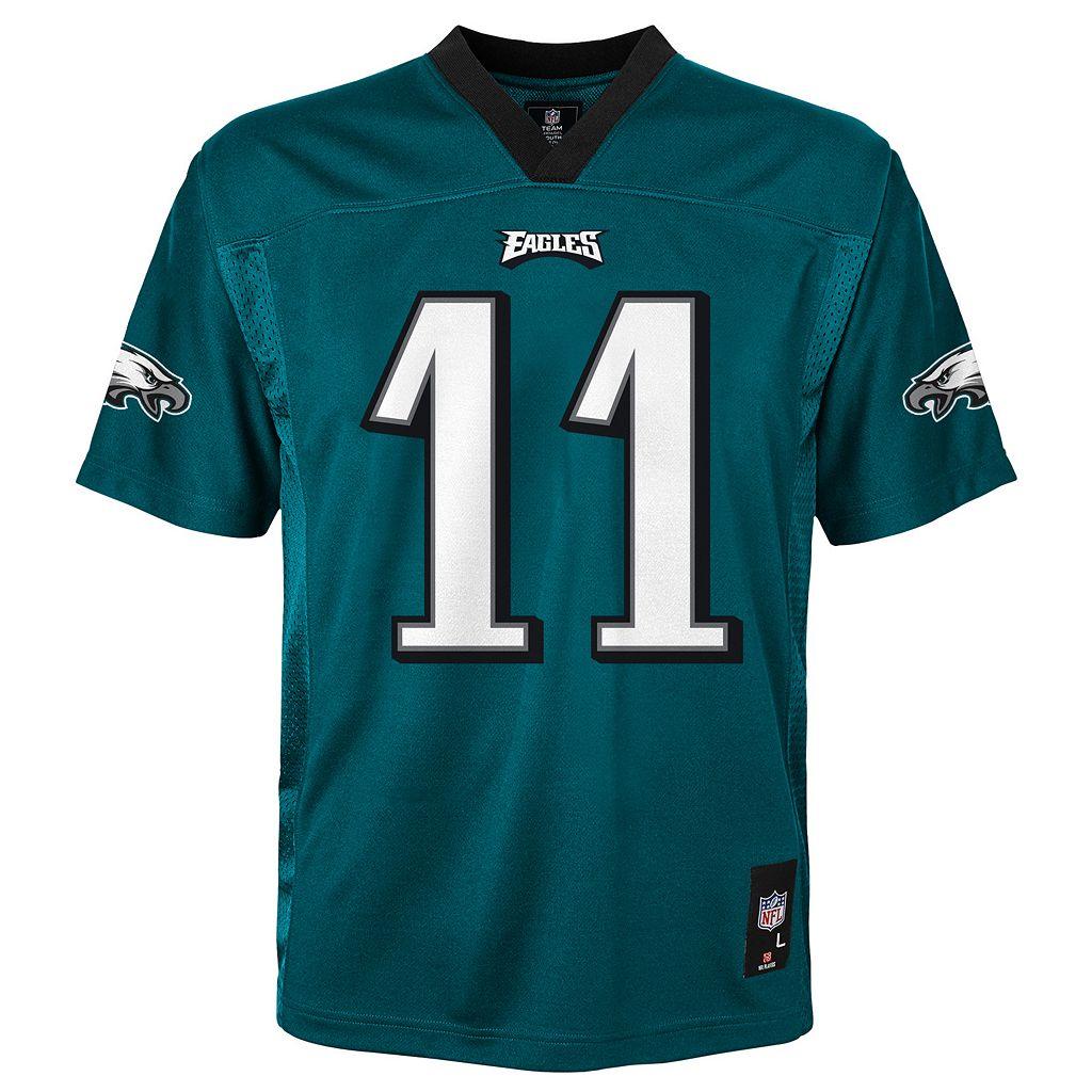 Boys 8-20 Nike Philadelphia Eagles Carson Wentz Replica NFL Jersey