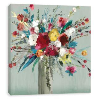 Artissimo Designs Wild Flowers I Canvas Wall Art