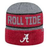 Adult Top of the World Alabama Crimson Tide Below Zero II Beanie