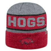 Adult Top of the World Arkansas Razorbacks Below Zero II Beanie