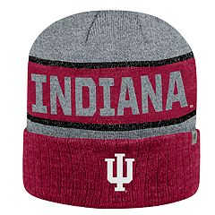 Adult Top of the World Indiana Hoosiers Below Zero II Beanie