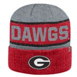Adult Top of the World Georgia Bulldogs Below Zero II Beanie