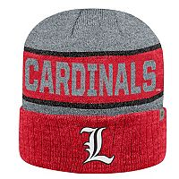 Adult Top of the World Louisville Cardinals Below Zero II Beanie