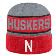 Adult Top of the World Nebraska Cornhuskers Below Zero II Beanie