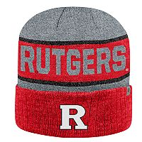Adult Top of the World Rutgers Scarlet Knights Below Zero II Beanie