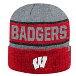 Adult Top of the World Wisconsin Badgers Below Zero II Beanie