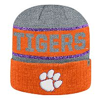 Adult Top of the World Clemson Tigers Below Zero II Beanie