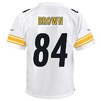 Boys 8-20 Nike Pittsburgh Steelers Antonio Brown Replica NFL Jersey