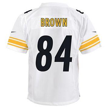 Boys 8-20 Nike Pittsburgh Steelers Antonio Brown Replica NFL Jersey
