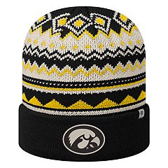Adult Top of the World Iowa Hawkeyes Dusty Beanie