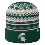 Adult Top of the World Michigan State Spartans Dusty Beanie