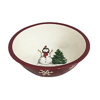 St. Nicholas Square® Yuletide Snowflakes Serving Bowl