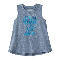 Toddler Girl Jumping Beans® Foiled Graphic Tank Top