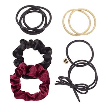 Mudd® Velvet Scrunchy & Hair Tie Set