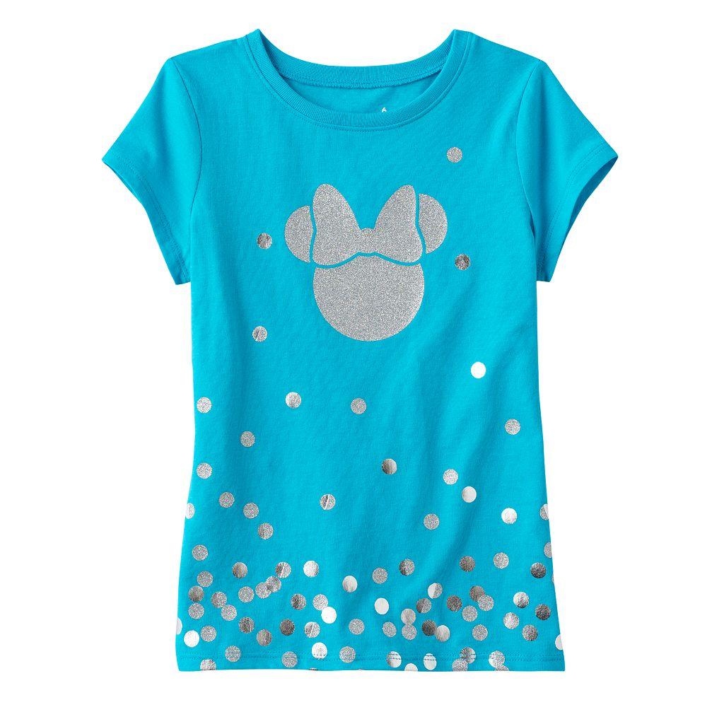 Disney's Minnie Mouse Toddler Girl Glitter Graphic Tee by Jumping Beans®