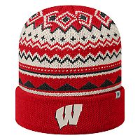Adult Top of the World Wisconsin Badgers Dusty Beanie