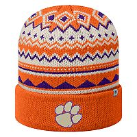 Adult Top of the World Clemson Tigers Dusty Beanie