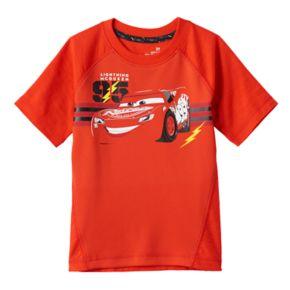"Disney / Pixar Cars 3 Toddler Boy ""Lightning McQueen"" Mesh Graphic Tee by Jumping Beans®"