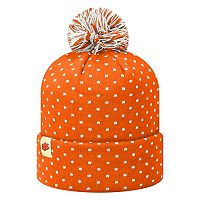 Adult Top of the World Clemson Tigers Firn Beanie