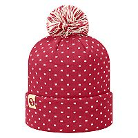 Adult Top of the World Oklahoma Sooners Firn Beanie