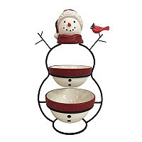 St. Nicholas Square® Yuletide 3-pc. Snowman Serving Set