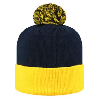 Adult Top of the World Marquette Golden Eagles Pom Knit Hat