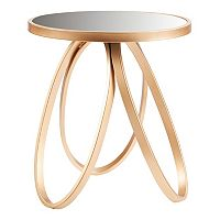 Madison Park Remy Gold Finish End Table