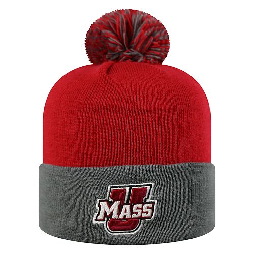 Adult Top of the World UMass Minutemen Pom Knit Hat