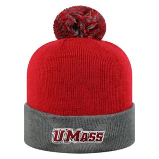 Adult Top of the World UMass Minutemen Pom Knit Hat