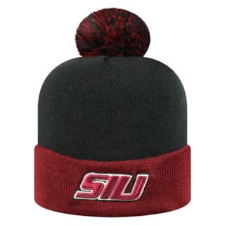 Adult Top of the World Southern Illinois Salukis Pom Knit Hat