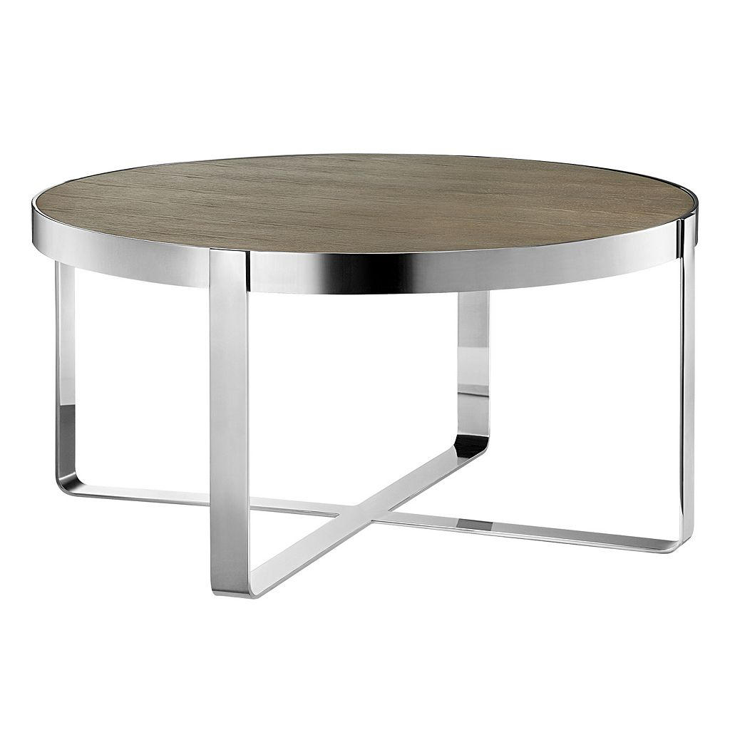 Madison Park Emily Round Coffee Table