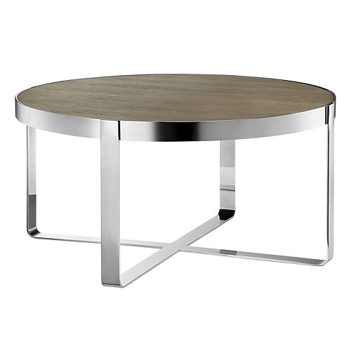 Madison Park Emily Round Coffee Table
