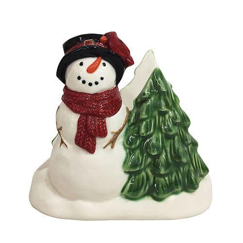 St. Nicholas Square® Yuletide Snowman Napkin Holder