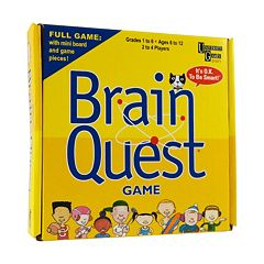 Brain Quest Pocket Travel Game by University Games