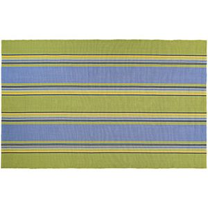 Couristan Bar Harbor Calypso Striped Reversible Cotton Rug