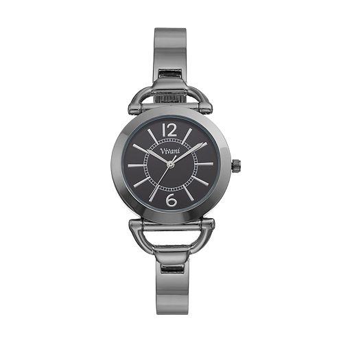 Vivani Women's Stainless Steel Cuff Watch