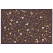 Couristan Dolce Gardenia Framed Floral Indoor Outdoor Rug