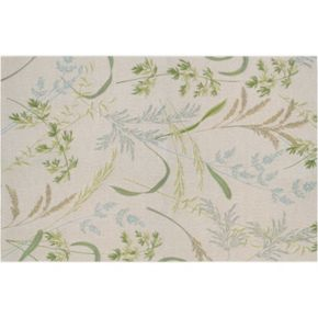 Couristan Dolce Sand Dune Floral Indoor Outdoor Rug