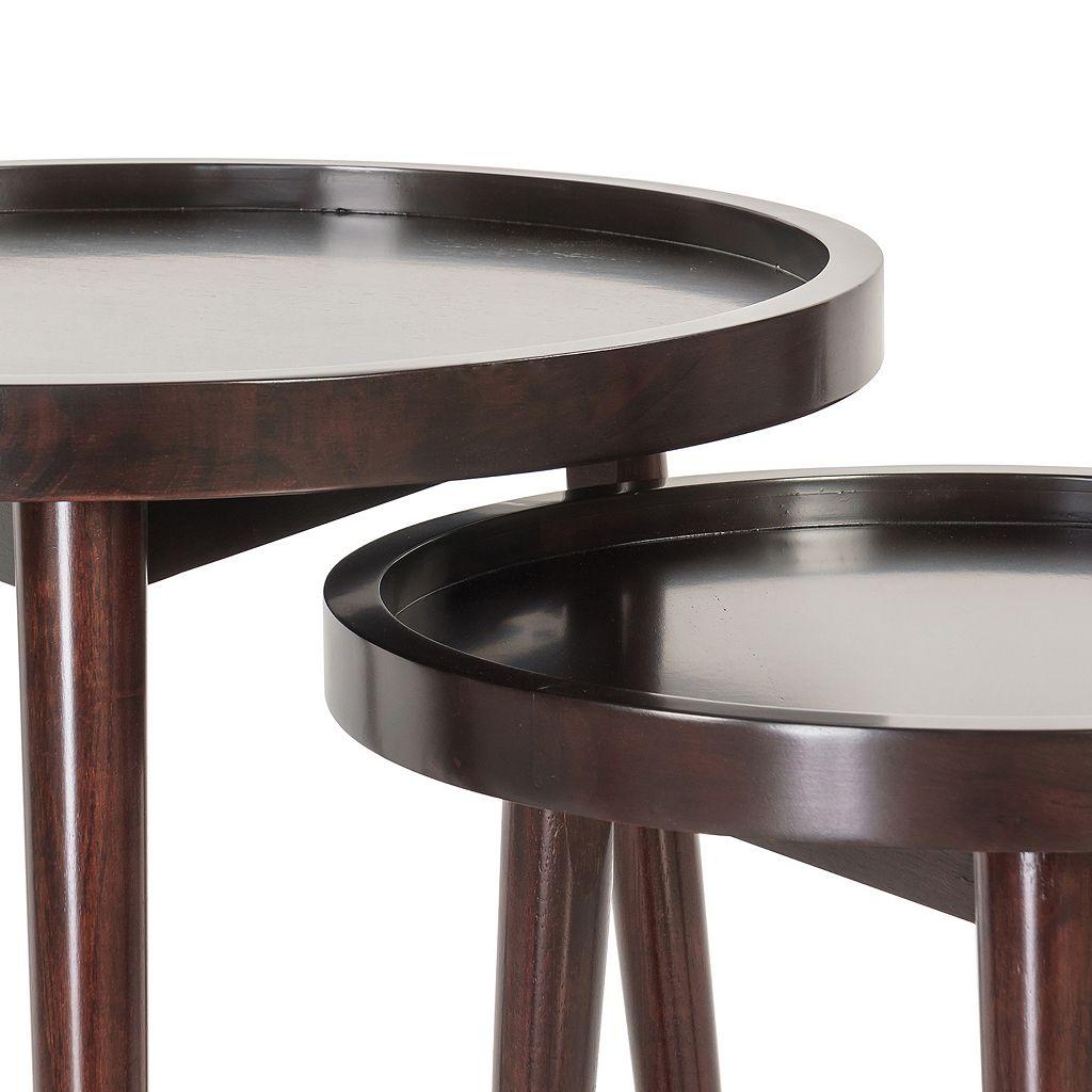 Madison Park Nesting End Table 2-piece Set