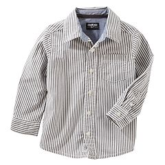 Boys 4-12 OshKosh B'gosh Striped Button Down Shirt