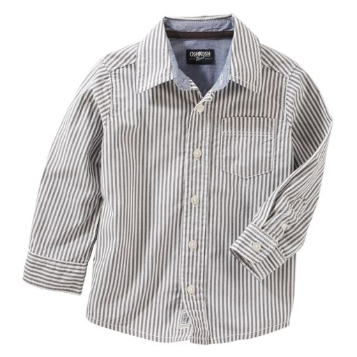Boys 4-12 OshKosh B'gosh Striped Button Down Shirt