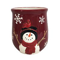 St. Nicholas Square® Yuletide Snowflake Utensil Crock