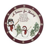 St. Nicholas Square® Yuletide Sharing Plate
