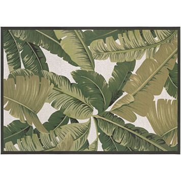 Couristan Dolce Palm Lily Indoor Outdoor Rug