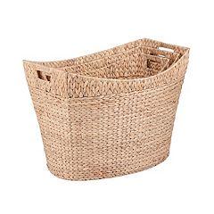 Honey-Can-Do 3 pc Tall Nesting Basket Set