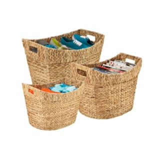 Honey-Can-Do 3-piece Tall Nesting Basket Set